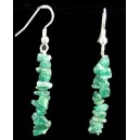 AVENTURINE CHIPPED EARRING