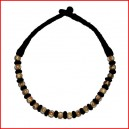 Patua weaving bone necklace